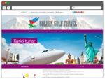 Turizm şirkətinin Rəsmi Internet Səhifəsi