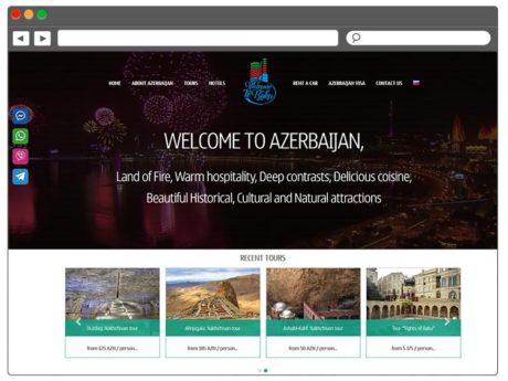 Разработка сайта для туристической компании