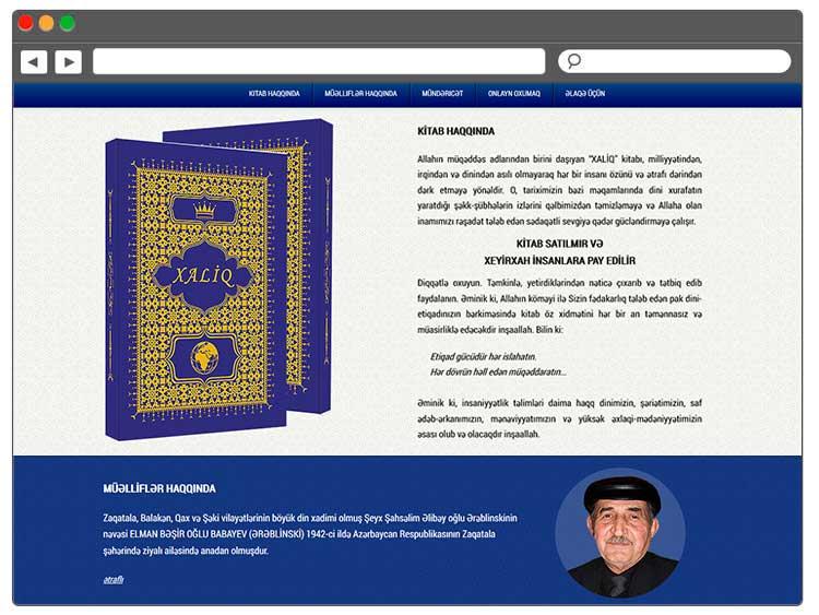 ibrahimovAZ Dini kitabı üçün sayt