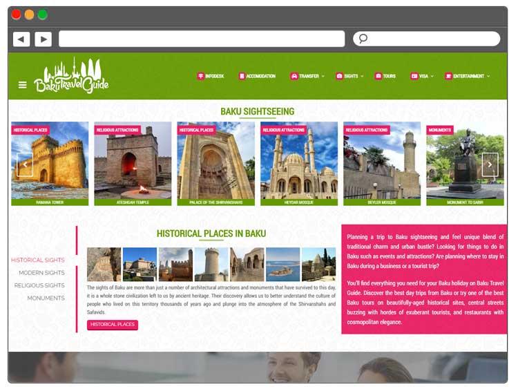 Turizm portalının hazırlanması