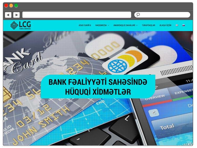 Hüquq büro üçün sayt / Сайт для юридического бюро