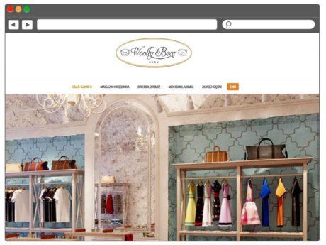 Sayt Sifarişi / Сайт для детского магазина одежды