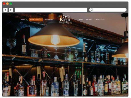 Разработка веб сайта для отеля в Баку / Yerli Otel üçün Saytın Hazırlanması