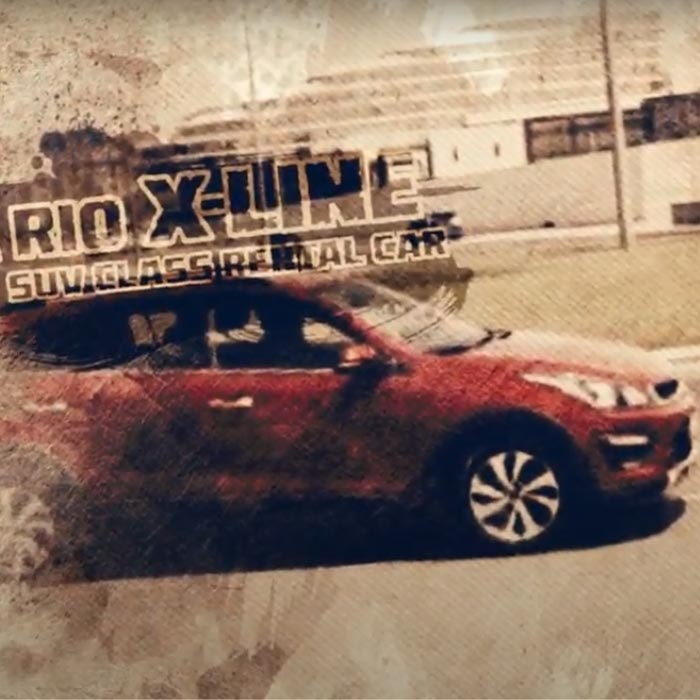 Создание видеоролика для рекламы Kia Rio X-Line / Kia Rio X-Line Aksiya üçün Reklam Video çarx