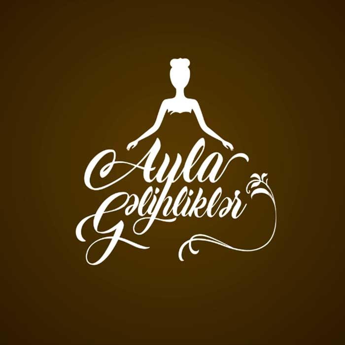 Разработка логотипа для свадебного салона в Баку / Ayla Gəlinliklər üçün Loqotip Dizaynı