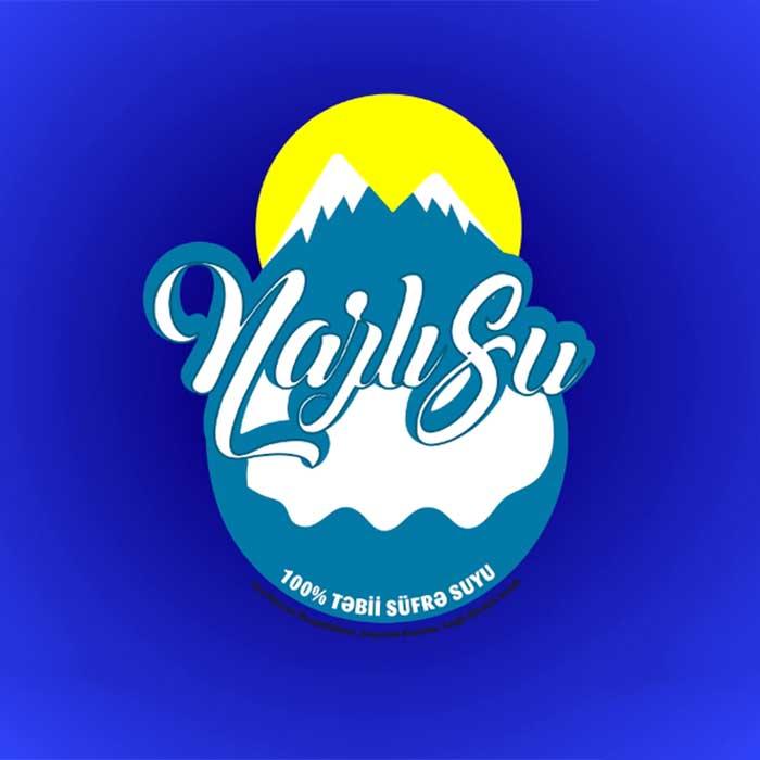 Su çatdırılması şirkəti üçün logo hazırlanması / Разработка логотипа для компании по продаже воды