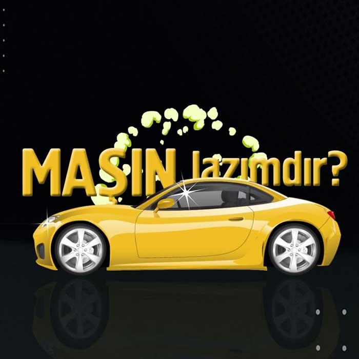 Разработка видеоролика для раздела Автомобили в Баку